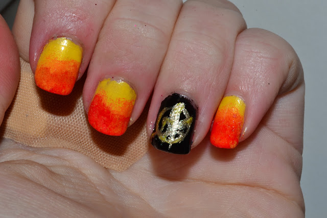 Hunger Games Nail Art by Elins Nails