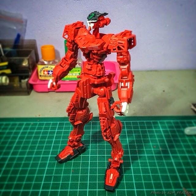 bandai gundam astray red model kits