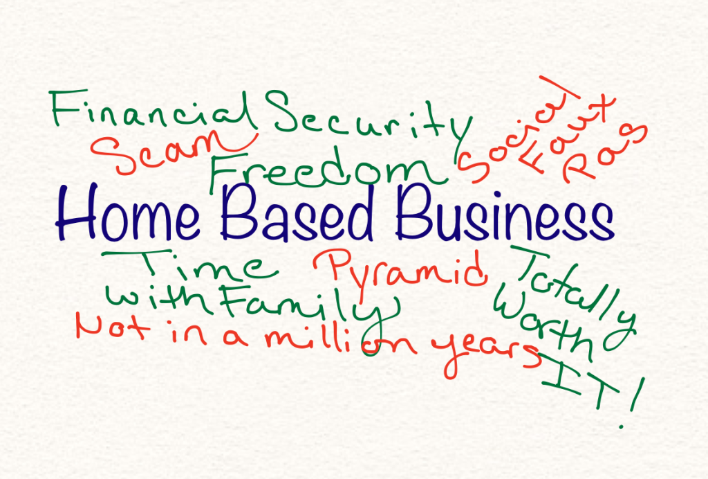 Home based business plan