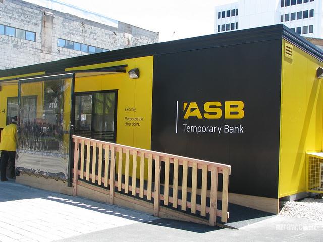 Shopping center construído de contêiners reciclados na Nova Zelândia