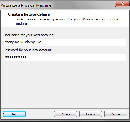 how to virtualize a physical machine