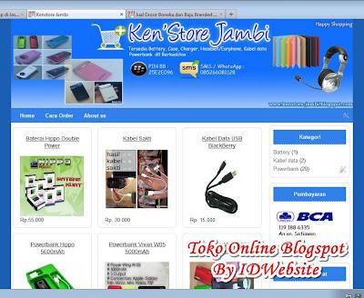 Toko Online Blogspot Blogger