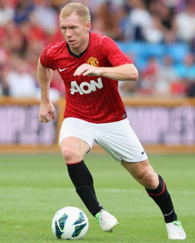 Paul Scholes Man Utd 2012