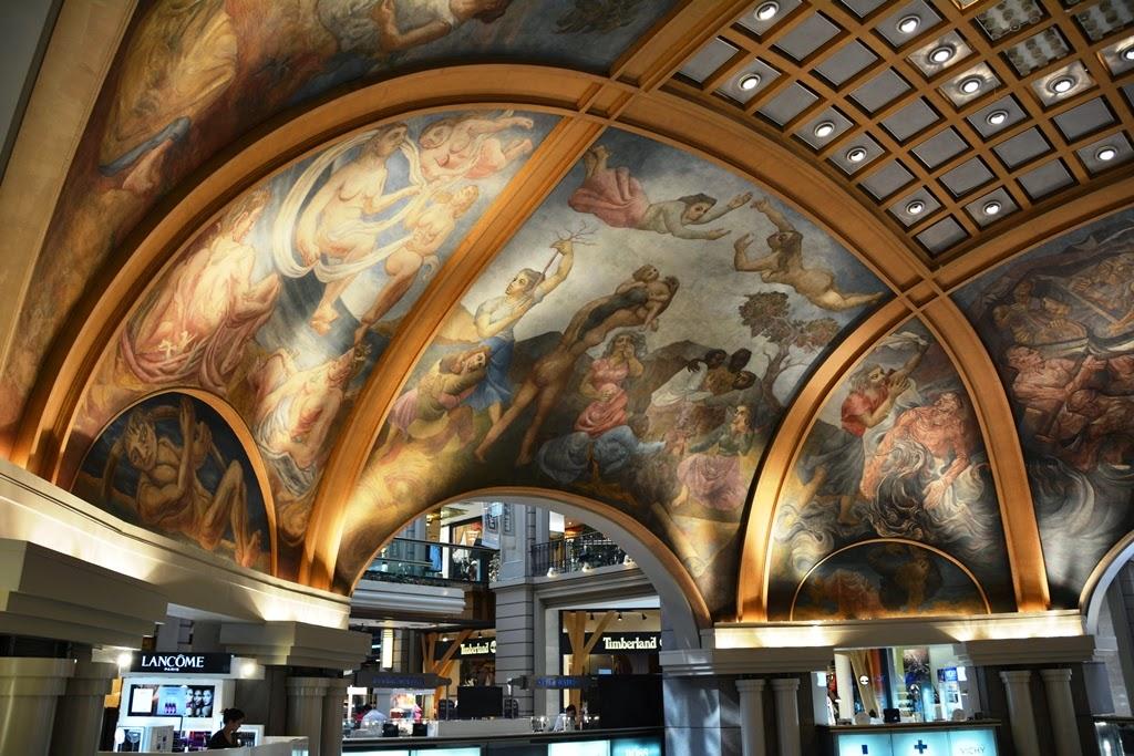 Galerias Pacifico Buenos Aires murals
