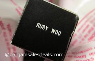 MAC Ruby Woo Matte Lipstick