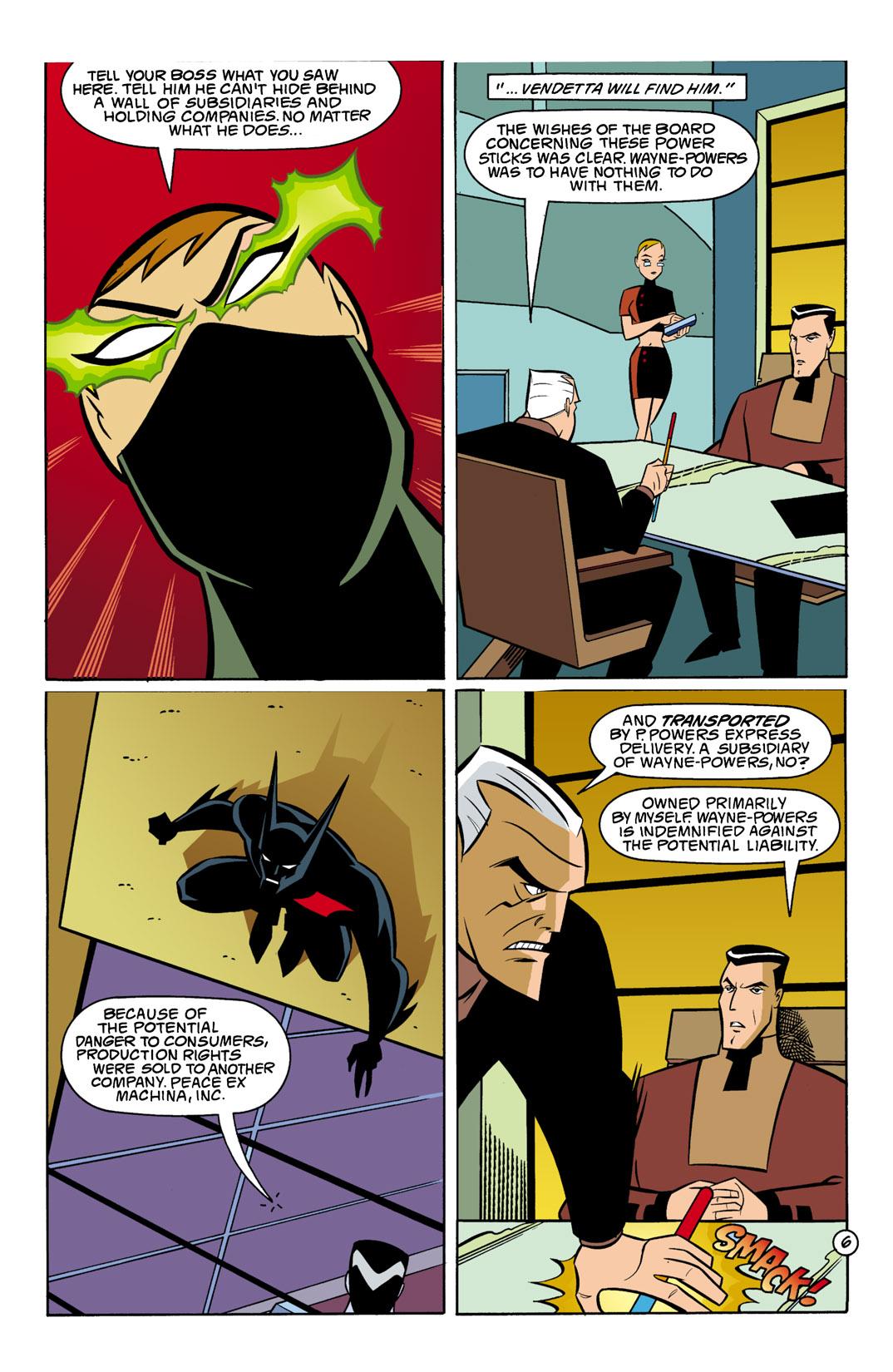 Batman Beyond [II] Issue #8 #8 - English 7