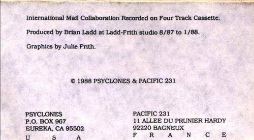 Psyclones - Greatest Hits 1981-1991