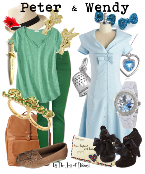 Peter and Wendy, Peter Pan, Disney Fashion, Peter Pan Costume, Wendy Darling Costume