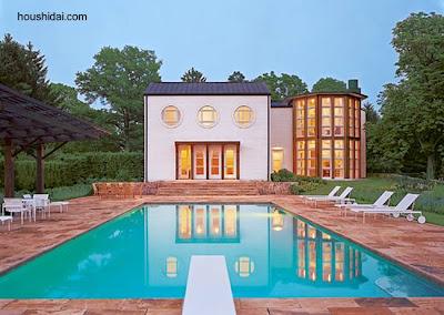 Residencia estilo Postmoderno en Estados Unidos 1971