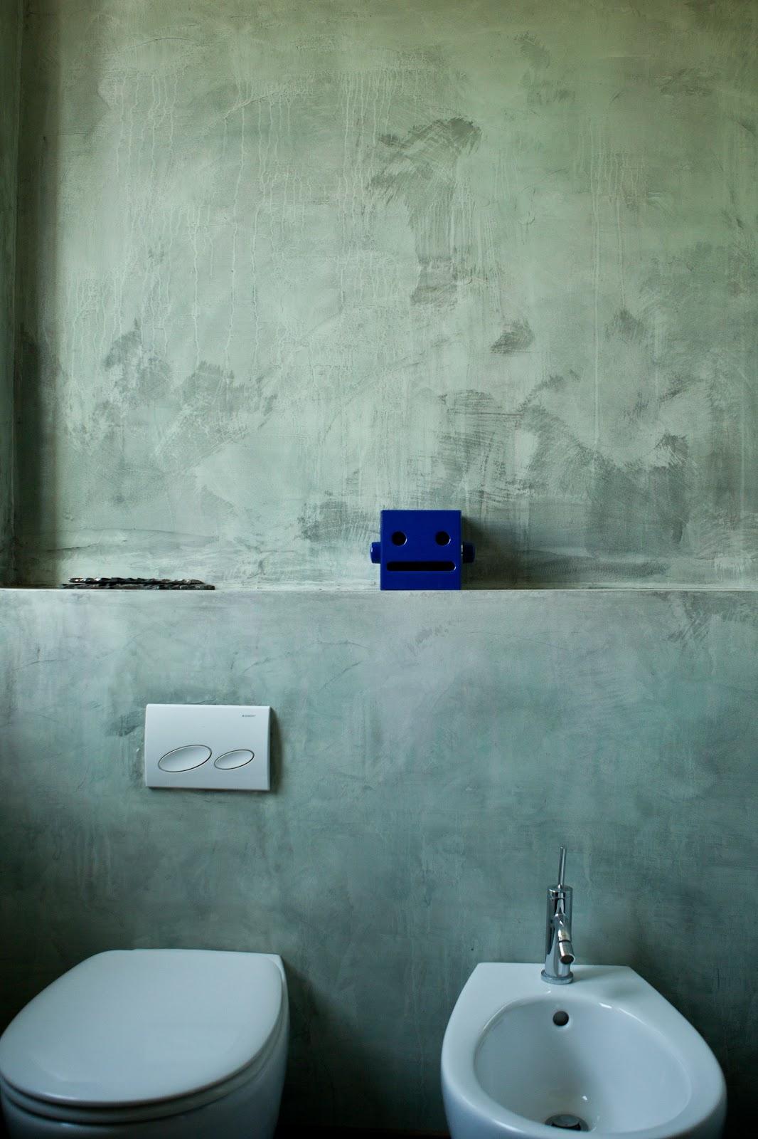Tempo di lamponi rivestimento in resina bagno resin coated bathroom - Rivestimento bagno resina ...