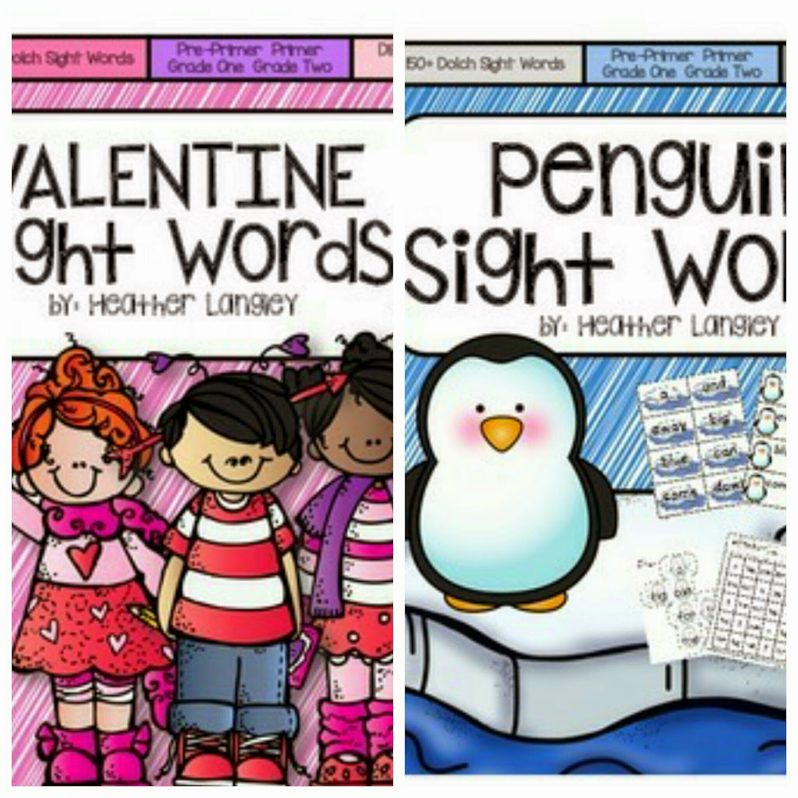 https://www.teacherspayteachers.com/Product/Valentine-Sight-Word-Activities-1668679