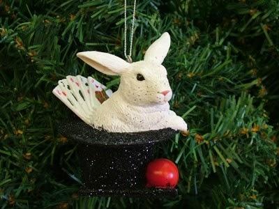 Magician Christmas Ornament - Magician Christmas Ornament DailyFoo