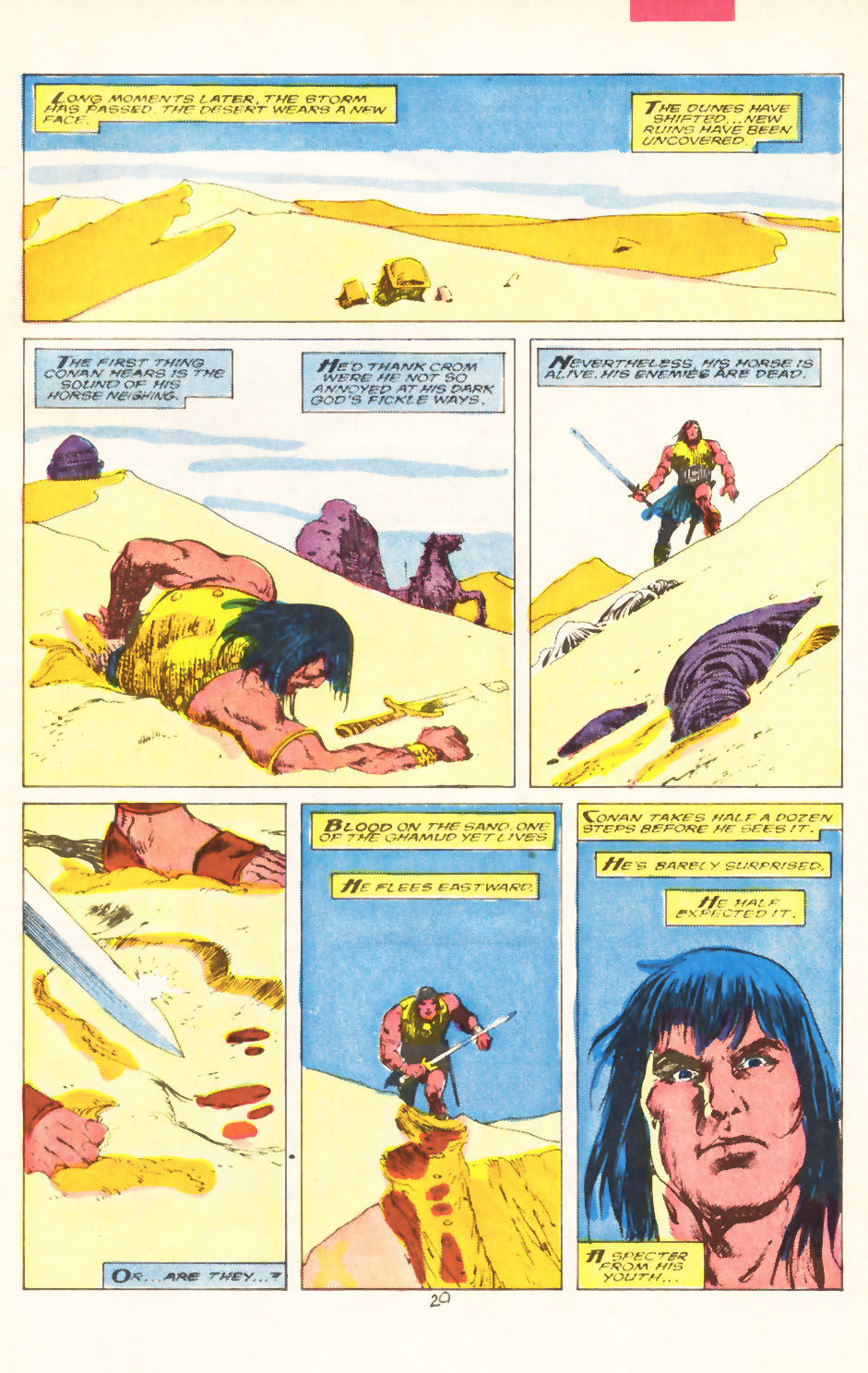 Conan the Barbarian (1970) Issue #211 #223 - English 22