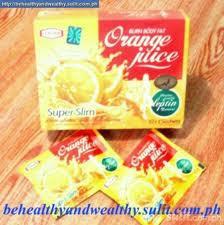 عصير التنحيف - عصير سوبر سليم بطعم البرتقال