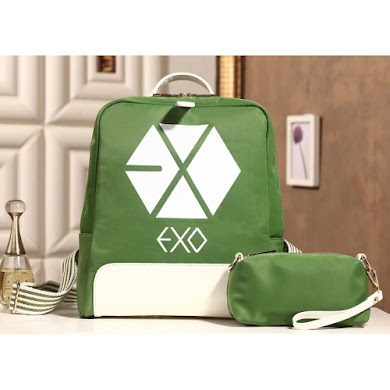 AAA K-POP EXO SERIES BACKPACK (GREEN)