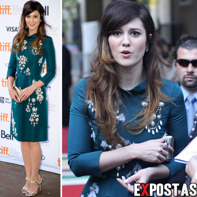 "Mary Elizabeth Winstead: ""Smashed"" Premiere durante o 37th Annual Toronto International Film Festival em Toronto - 12 de Setembro de 2012"