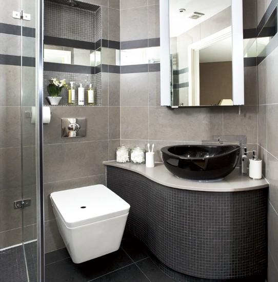 Tinas De Baño Viejas:la pared de la ducha fue elegido para beneficiarse de las tejas de