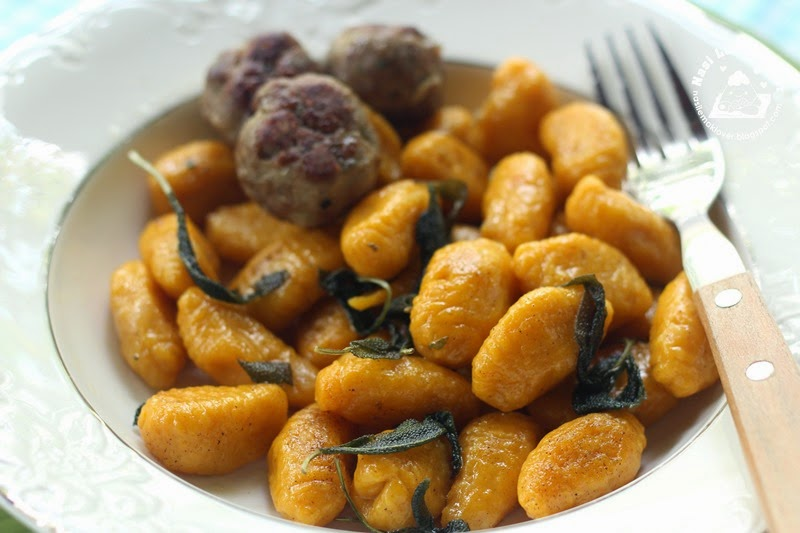 Nasi Lemak Lover: Pumpkin Gnocchi with Sage and browned butter sauce ...