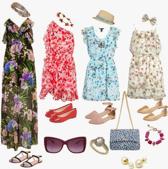 roupas da moda-modelo de vestidos-vestidos-vestidos da moda-vestido estampado-vestido floral-roupas femininas-moda feminina-modaverão-dresses