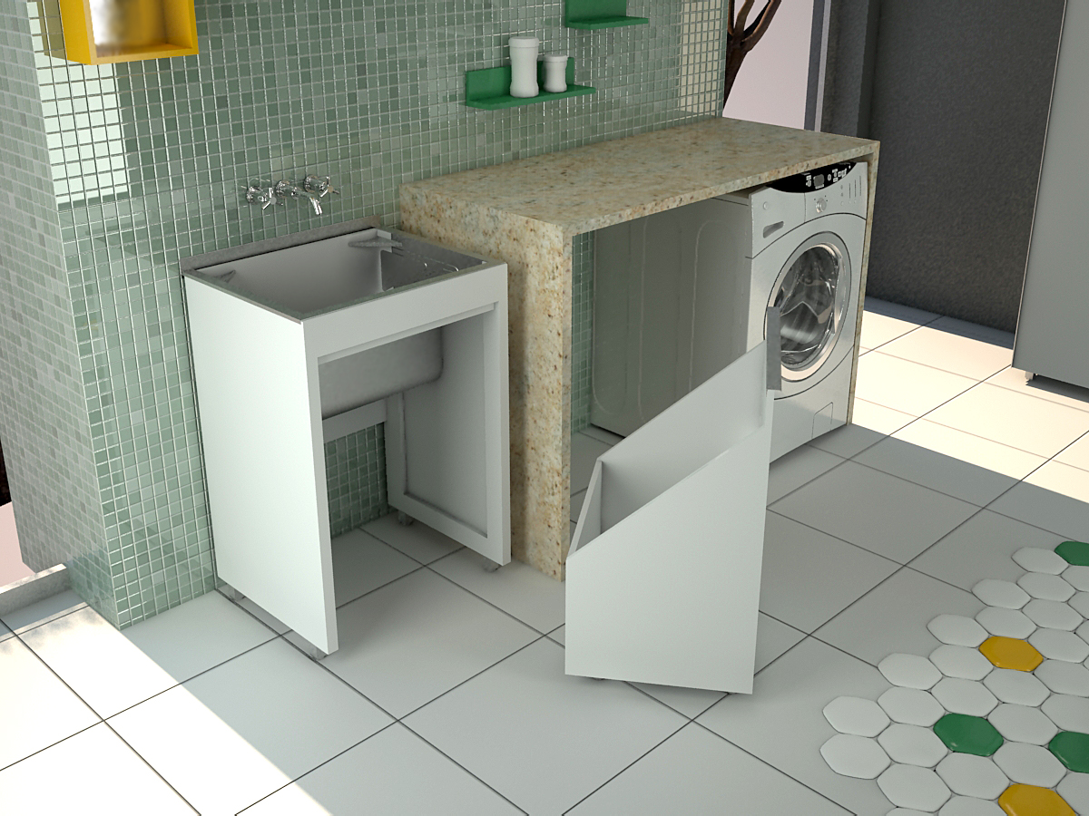 #BA9111 Banheiros com Estilo: Dicas para área de serviço e lavanderia  1762 Janela De Aluminio Para Area De Serviço