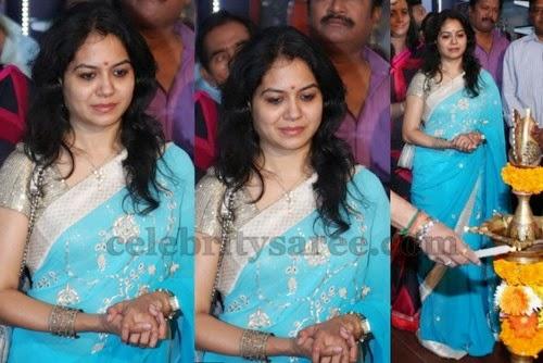 Sunitha Mirror Work Saree