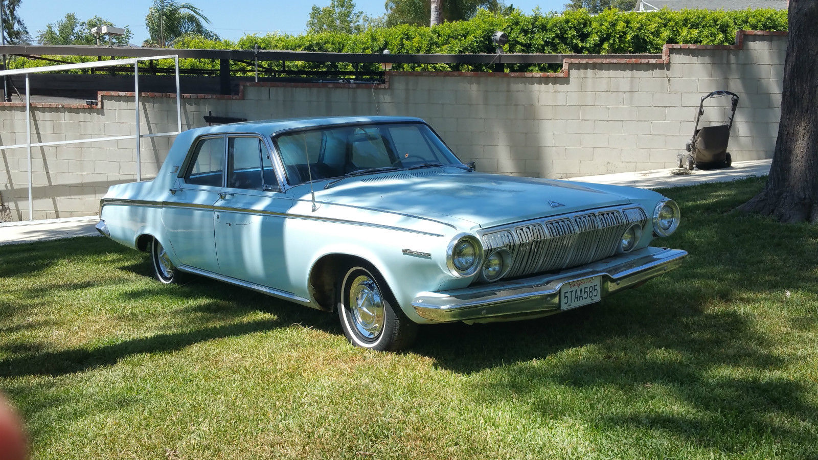 1963 Dodge Polara 4 Door Sedan. U201c