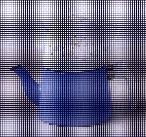 çaydanlık mozaik efekt