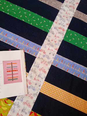 A Boy Version of the Daydreams Quilt