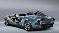 Aston Martin's radical CC100 Speedster Concept rear side