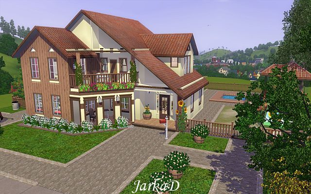 1000 Images About Sims Houses On Pinterest
