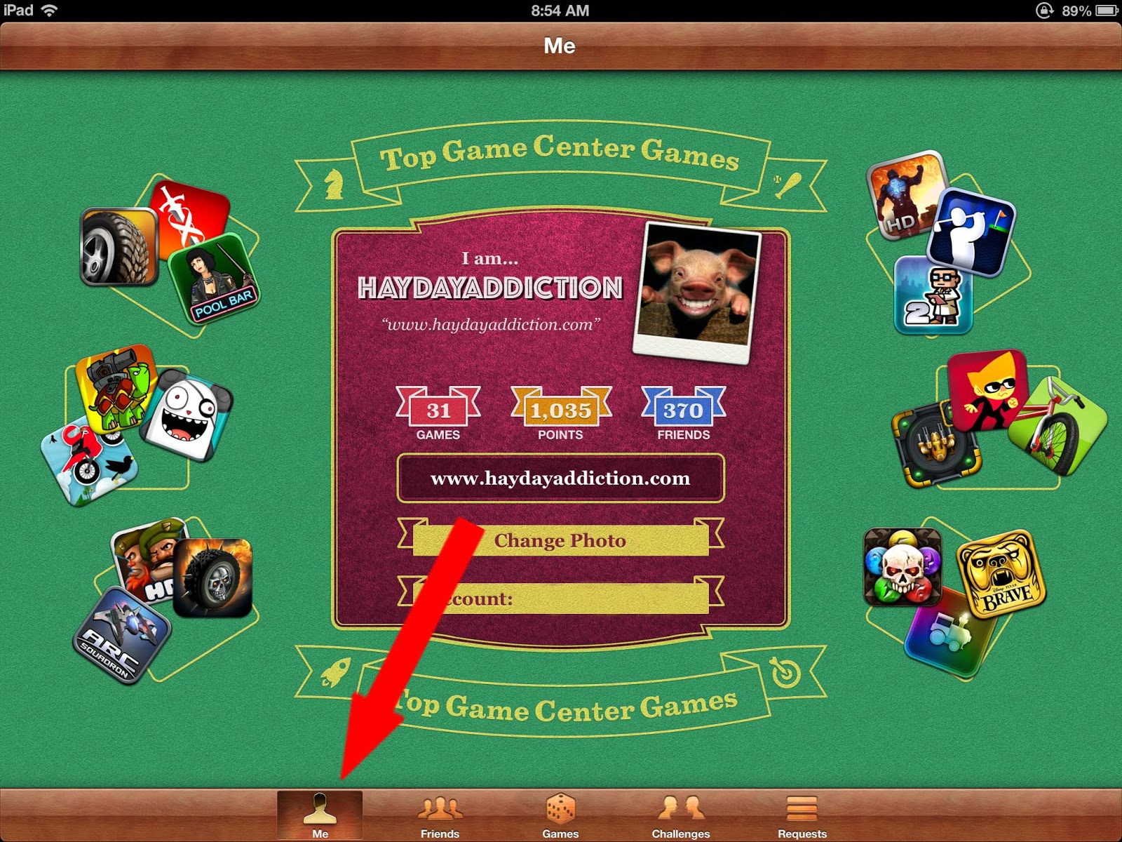 how to change your gamecenter username