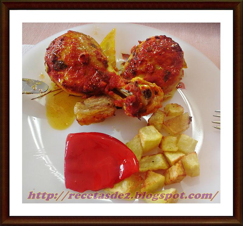 Pollo al horno en salsa de tomate especiada recetas de - Salsas para el pollo al horno ...
