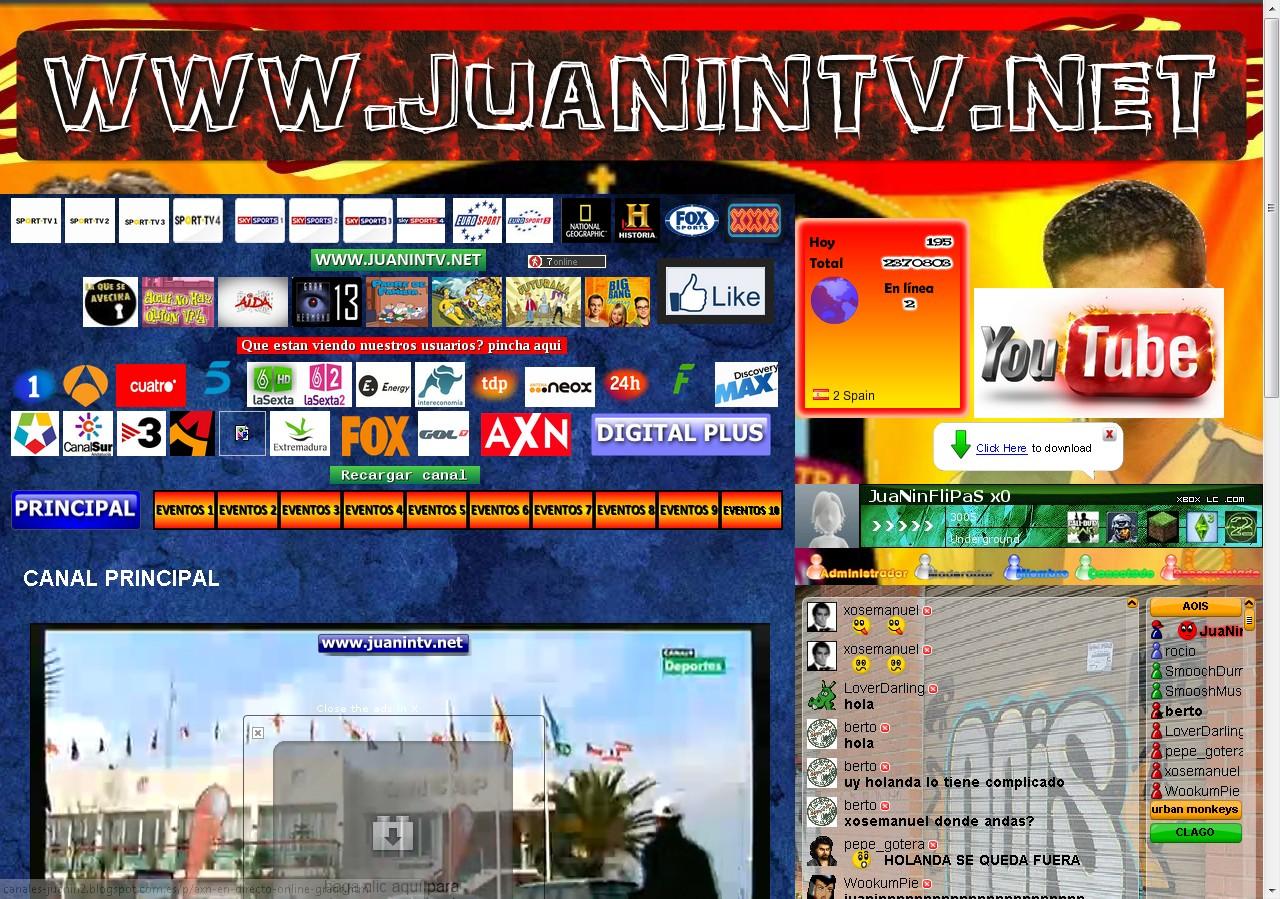 Tv, deporte, y canales de pago gratis (españa)