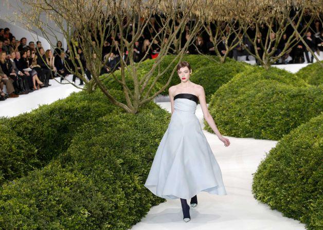 Christian Dior's Spring 2013 Couture Presentation