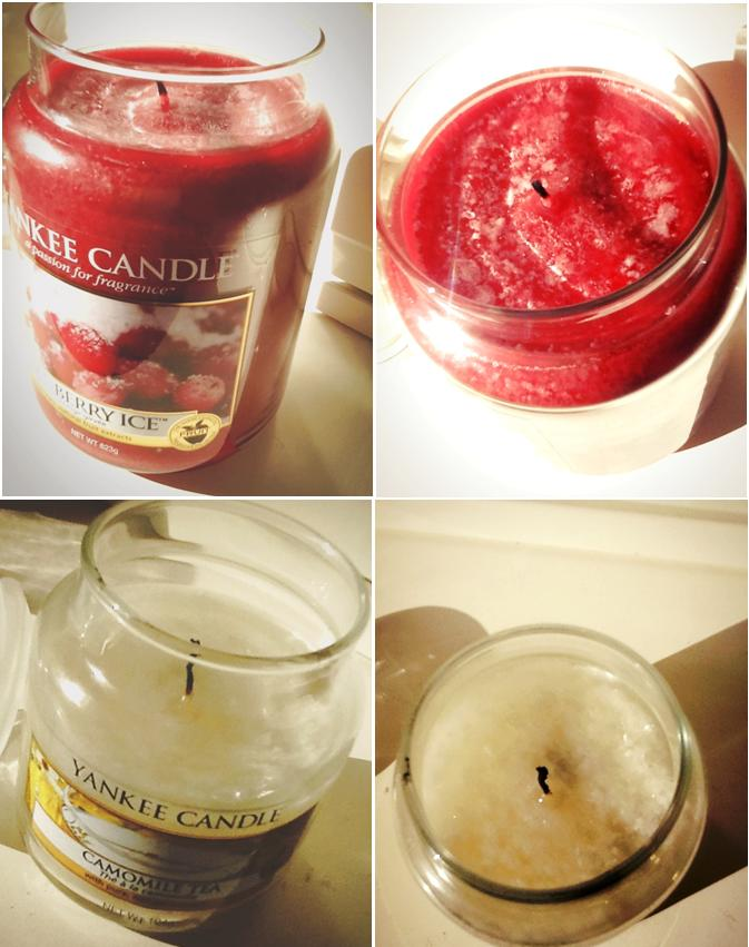 My reviewed Yankee Candles of october 2012 are: