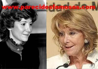 Esperanza Aguirre joven