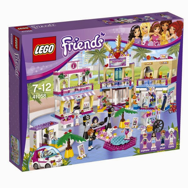 JUGUETES - LEGO Friends  41058 El centro comercial de Heartlake City  Toys | Producto Oficial 2014 | Edad: 7-12 años