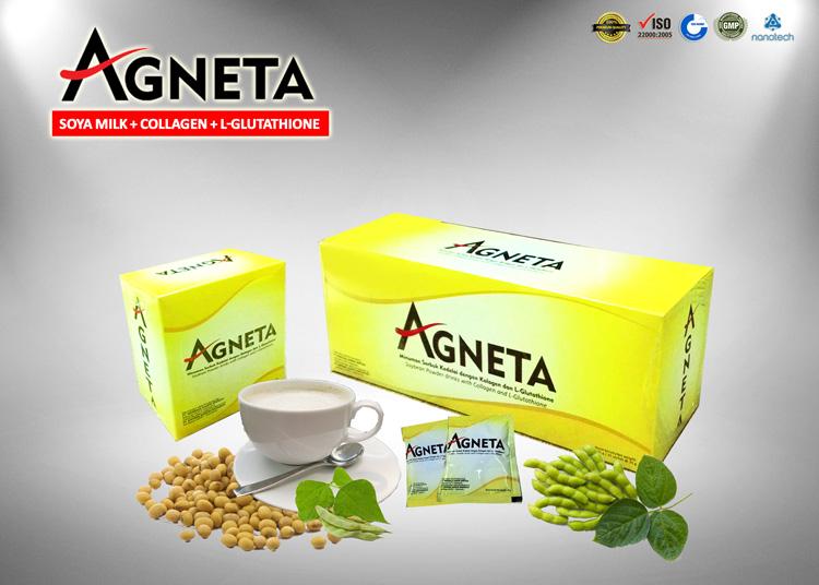 Agneta Soya dengan L-Glutathione & Kolagen