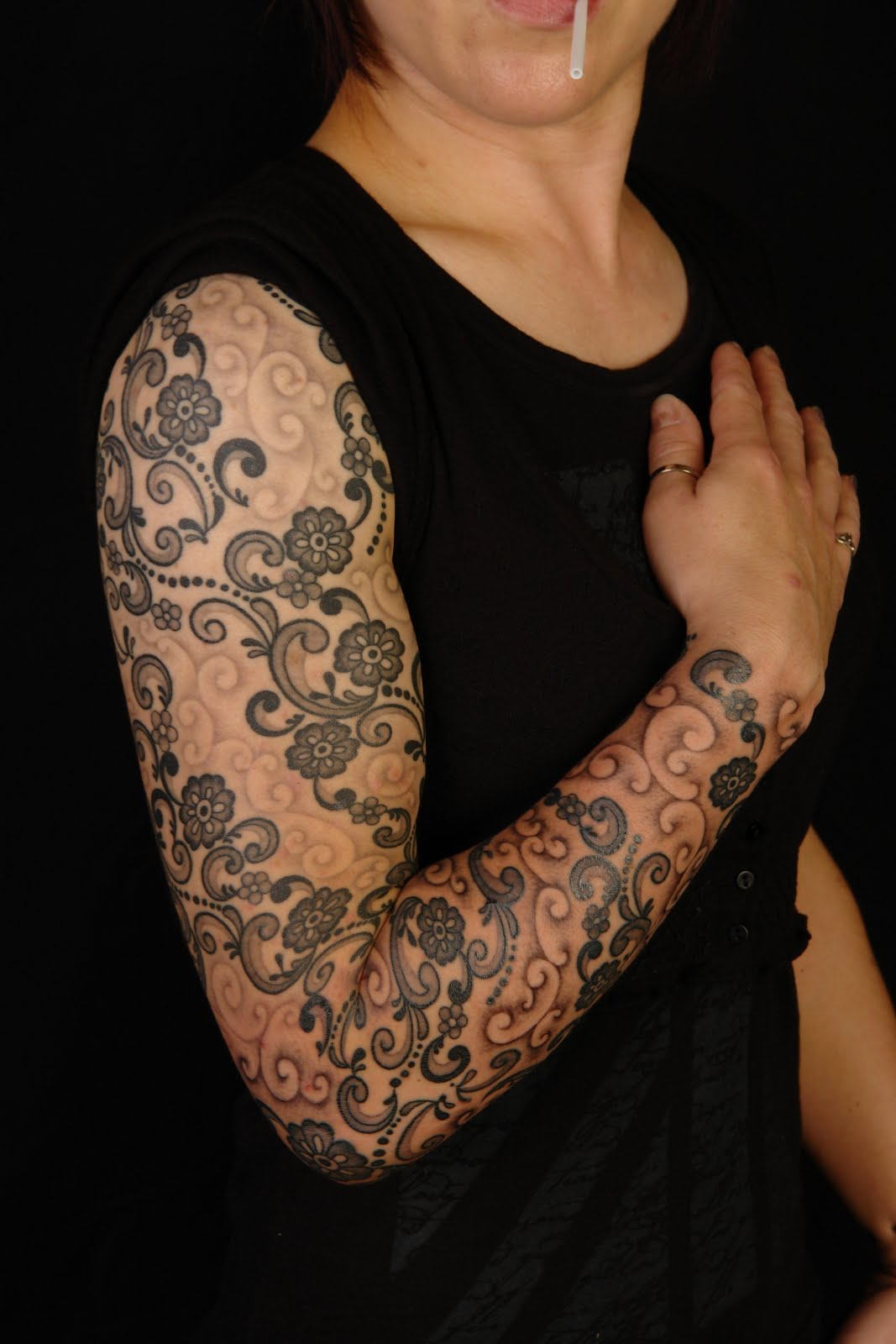 Lace Tattoo Designs