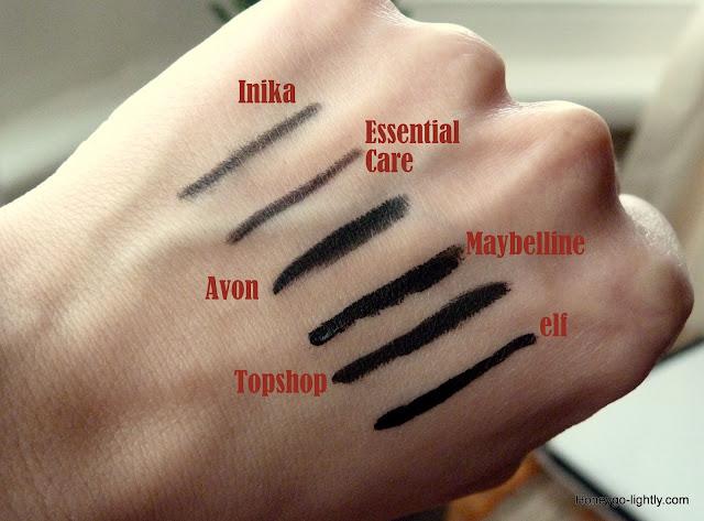 eyeliner comparison