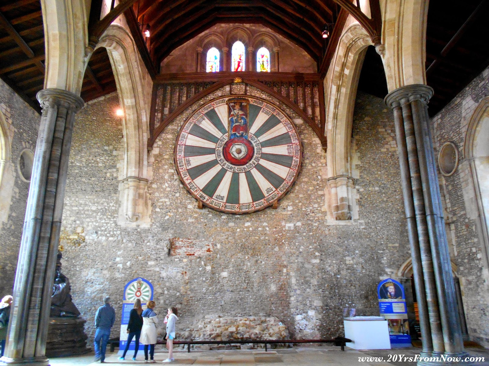 20 years from now winchester 39 s great hall round table - Round table winchester cathedral ...