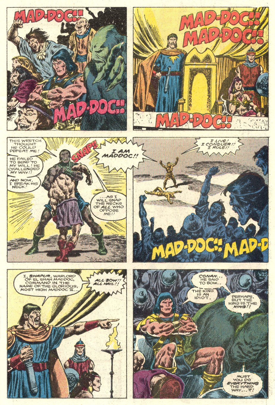 Conan the Barbarian (1970) Issue #181 #193 - English 8