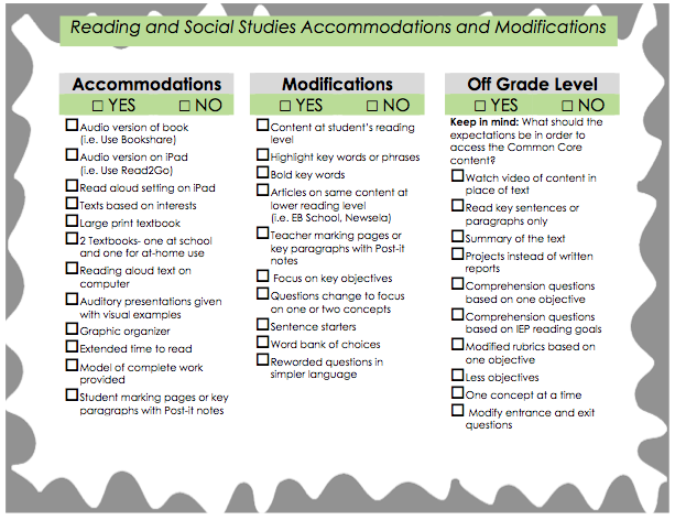 14 Possible IEP Accommodations for Children with Autism & ADHD