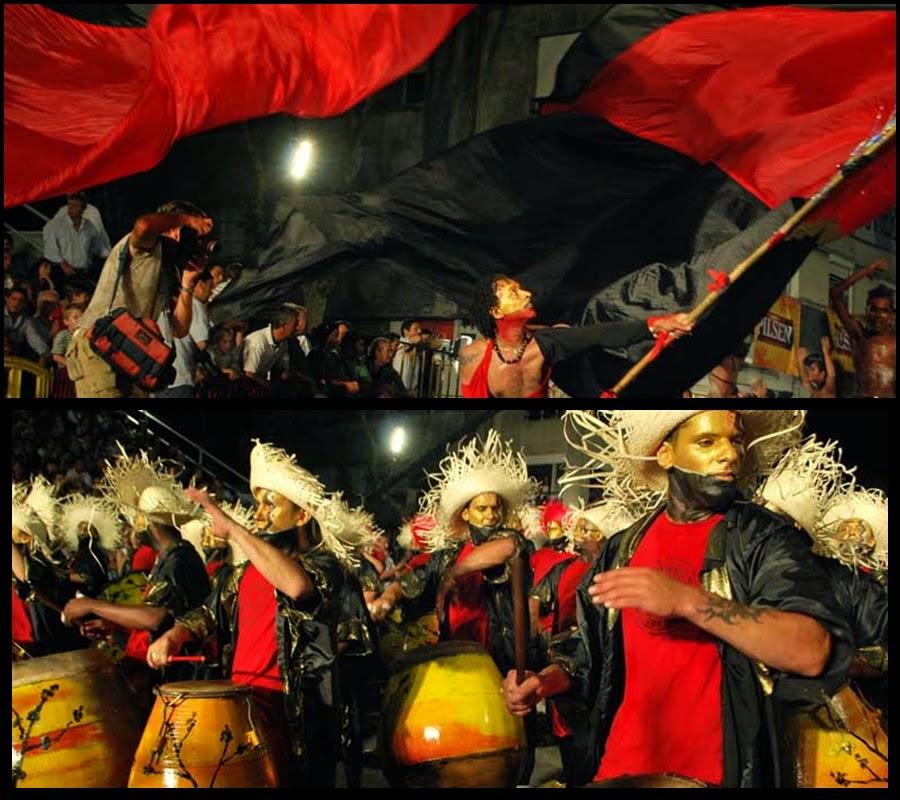 Desfile de Llamadas.Kachikaracuta.. Montevideo. 2011.