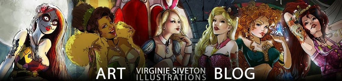 Virginie Siveton Illustration Art
