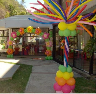 Decoracion Fiestas Con Globos Aunque Parezca Que Los