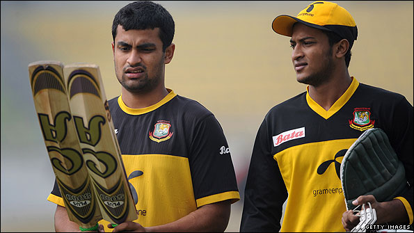 Tamim Iqbal and Shakib Al Hasan