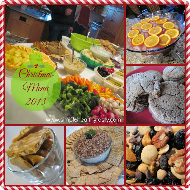 Simple Healthy Christmas Menu Plan