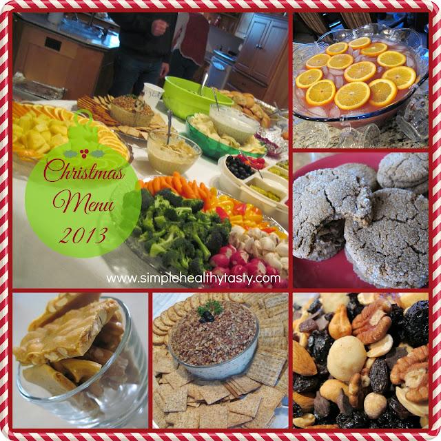 Simple Healthy Christmas Menu Plan