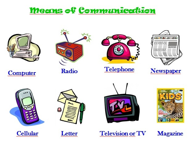 place of the means of communication in social life
